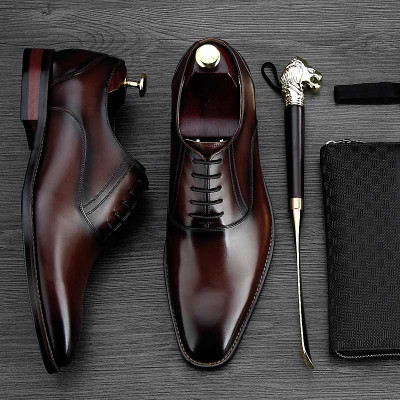 Italian luxury dress shoes for men