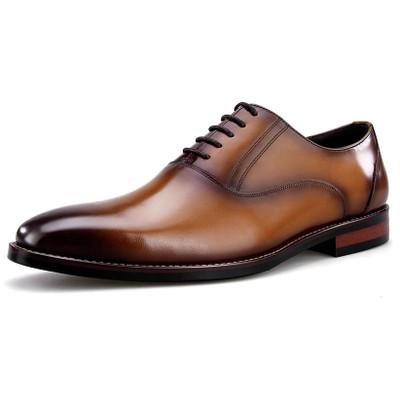 Mens Italian fashion leather oxford dress shoes