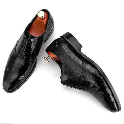 Luxury oxford shoes for men