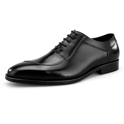 Black dress shoes for men