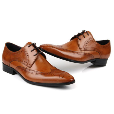 Office dress derby shoes for men