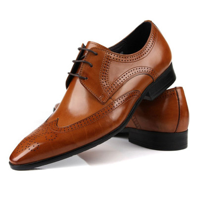 Genuine leather shoes for men