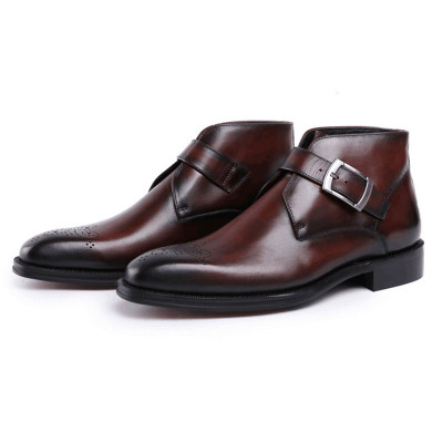 Fashion dress boots for men