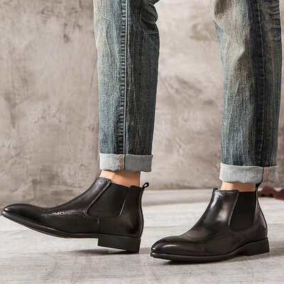 Stylish Chelsea boots for men