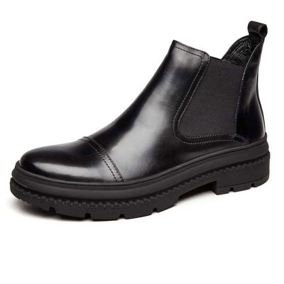 Leather Chelsea boots for men