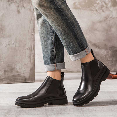 Fashion Chelsea boots for jeans