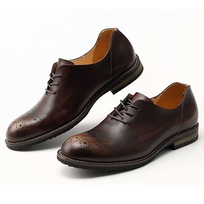 889d52ab5 Mens comfortable leather dress shoes for jeans - GRIMENTIN