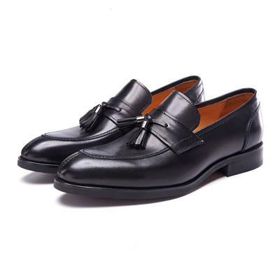 Customized fashion tassel men loafers