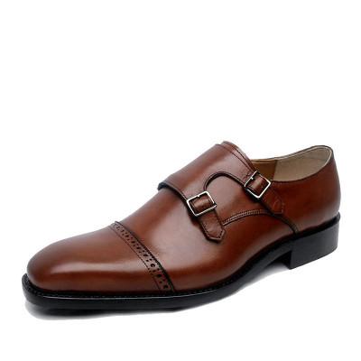 Mens Monk Strap Dress Shoes