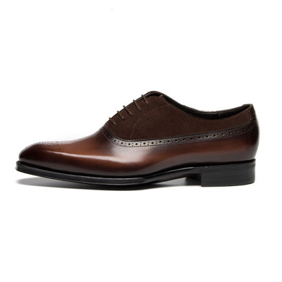 Mens Brown Oxford Shoes
