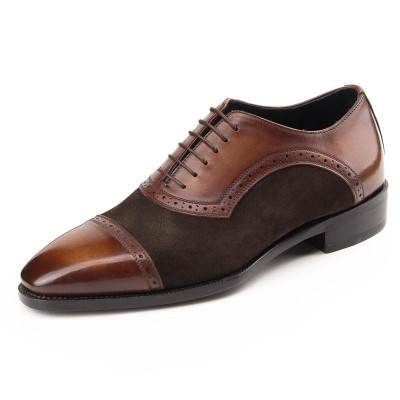 Goodyear Luxury Mens Oxfords Dress Shoes Genuine Leather