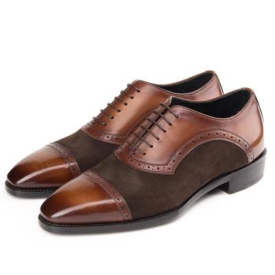 Mens Brown Dress Shoes