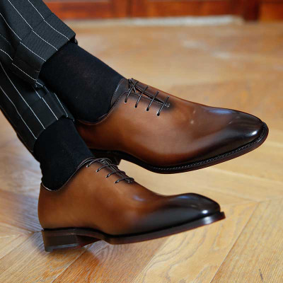 Genuine Leather Men  Business Dress Shoes 2018