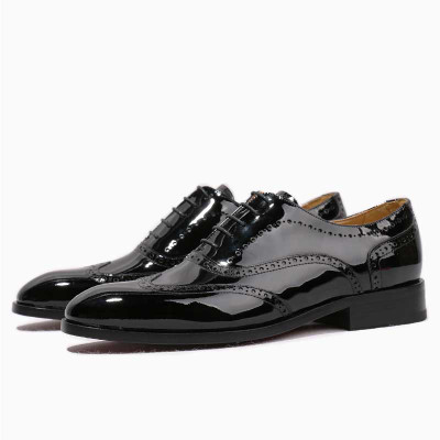 Patent Leather Shoes  Designer Wedding