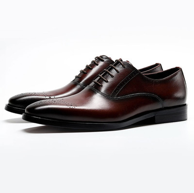 Brown oxfords shos for men