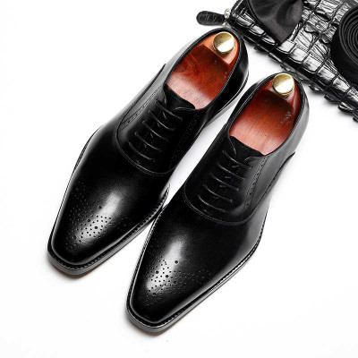Black oxfords shos