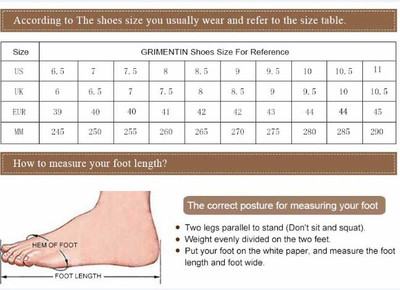 Shoes size for dress shoes