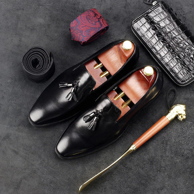 Extra Save $60 Cupon Code: CNEW50 Men Loafers Shoes Tassel