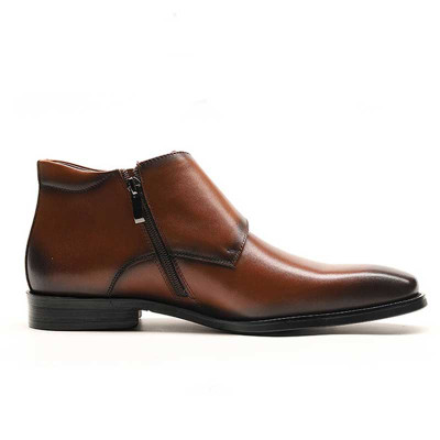 New Fashion Mens Ankle Boots genuine leather