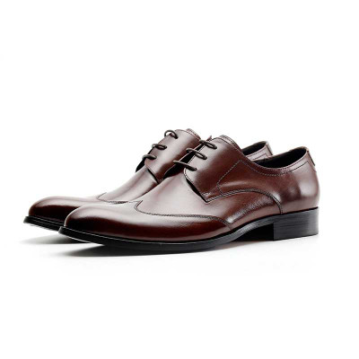 Mens High Quality Derby Dress Shoes