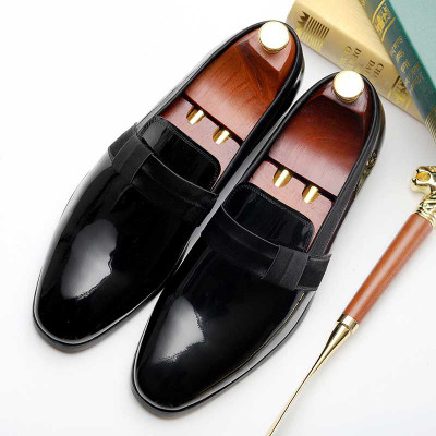 Mens Patent Leather Wedding Shoes