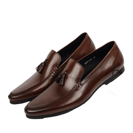 new styles first rate cheapest price Comfortable Tassel Casual Leather Loafers Shoes for Men