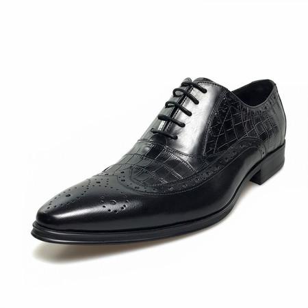 55cf22193344a Mens Vintage Genuine Leather Oxford Dress Shoes