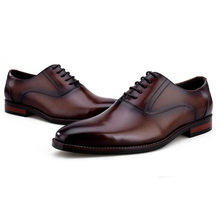 e794ca8ba63b Italian Mens formal leather oxford dress shoes - GRIMENTIN