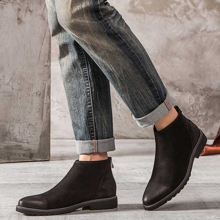 suede dress boots