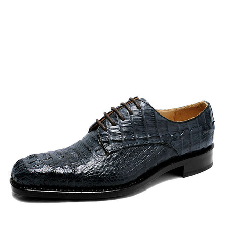 6b84de091642 ... Italian Designer Luxury Crocodile Leather Mens Dress Shoes