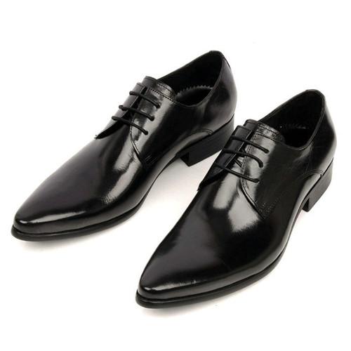 1be5a5cc9a66 Black Men Formal Dress Shoes