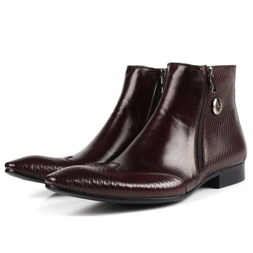 Mens Pointed Boots