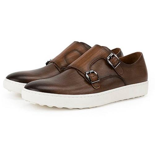 buckle mens dress shoes