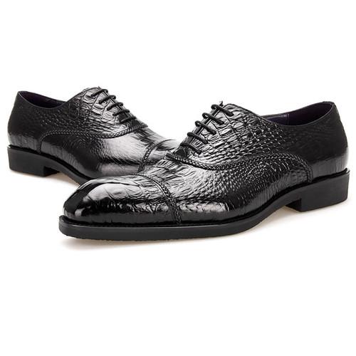 Black oxfords shoes for men