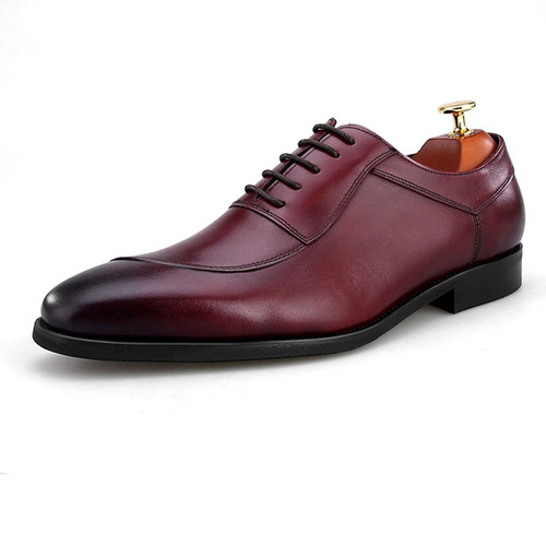 Unique leather shoes for men