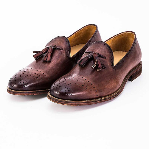 Tassel loafers shoes for men