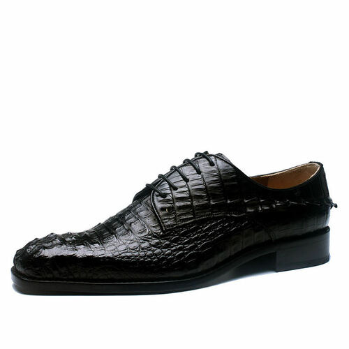 Crocodile Leather Mens Shoes Expensive Designer Shoes For Men