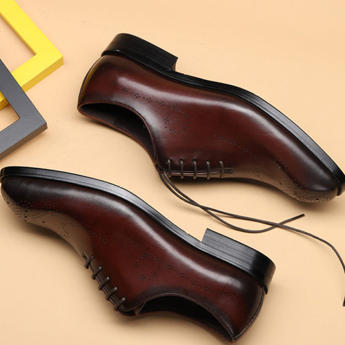 Wholecut oxford shoes