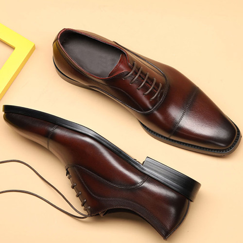 Mens cap toe shoes