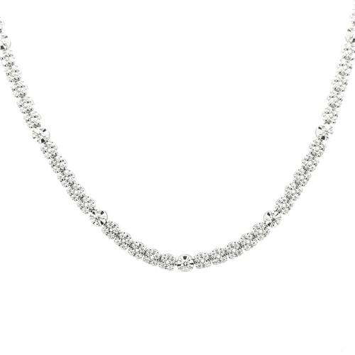 18ct White Gold 1.60ct Diamond Necklace diamond ring engagement ring belfast wedding ring eternity ring diamond jewellery