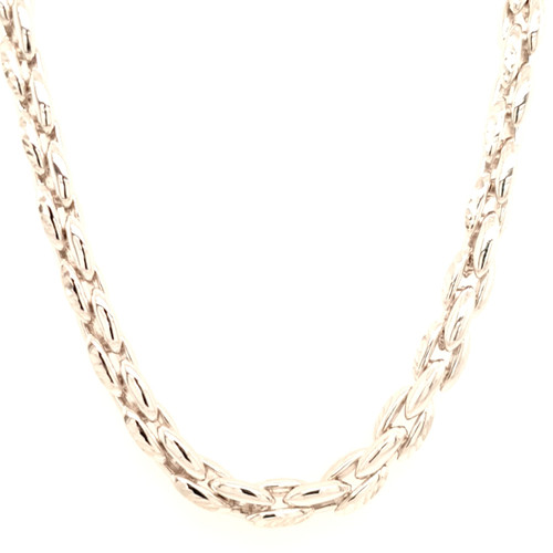 Just Jane Silver Heavy Chain Necklace