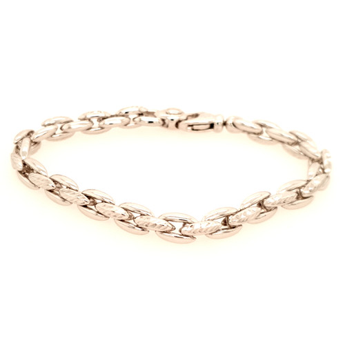 Just Jane Heavy Silver Chain Bracelet