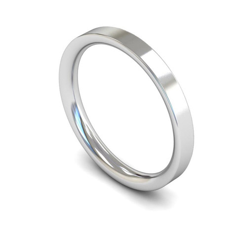 Platinum Wedding Ring - 2mm, 2.5mm, 3mm - Create your own
