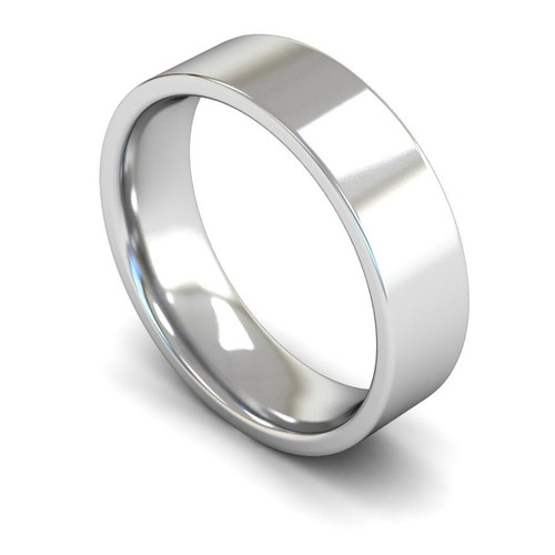 Platinum Wedding Ring - 4mm, 5mm, 6mm - Create your own physical Plain Rings Murray & Co.