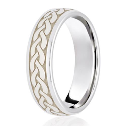 Celtic Twist Weave Wedding Ring