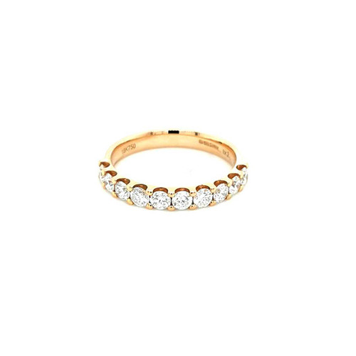 18ct Rose Gold 0.75ct Claw Set Diamond Wedding Ring diamond ring engagement ring belfast wedding ring eternity ring diamond jewellery