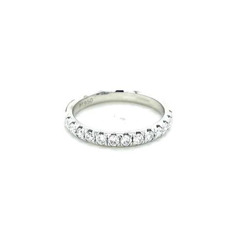 Platinum 0.50ct Claw Set Diamond Wedding Ring diamond ring engagement ring belfast wedding ring eternity ring diamond jewellery