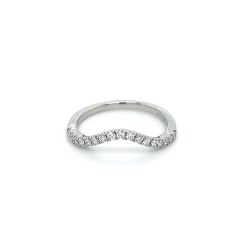 0.26ct platinum diamond shaped wedding ring murray belfast jewellery engagement