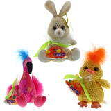Galerie Fluffy Hair Plush with Candy