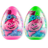 Trolls Jumbo Eggs with Candy (Set of 2)